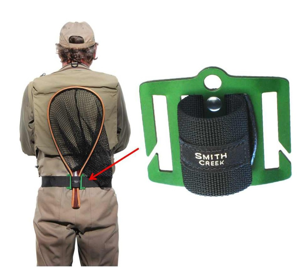Držák podběráku Smith Creek Net Holster Green