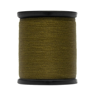 Uni Thread Waxed 3/0 100yds Olive Dun