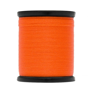 Uni Thread Waxed 3/0 100yds Orange