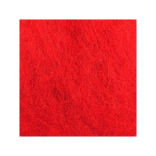 Sheep Wool Color Red