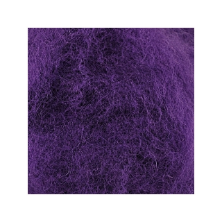 Sheep Wool Color Dark Purple