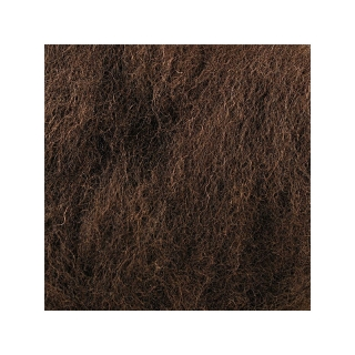 Sheep Wool Color Dark Brown