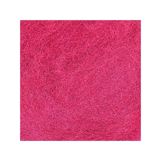 Sheep Wool Color Dark Pink