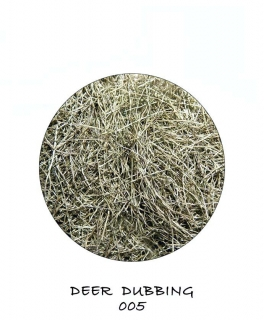 Deer Dubbing Dark Green