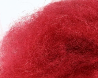 Camel Dubbing Crimson Red