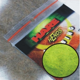 Hends Hare Dubbing Fluo Green