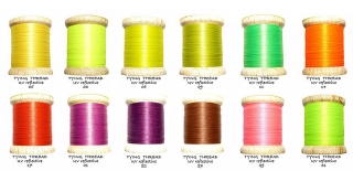 UV Reflective Thread - sada 12 barev