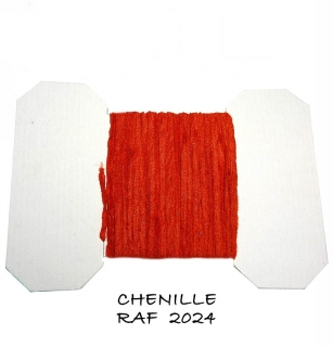 RAF Chenille Line Dark Red