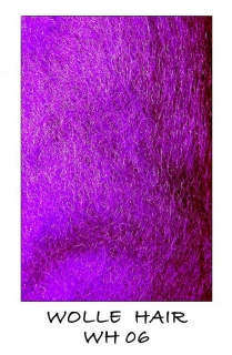 Wolle Hair Purple