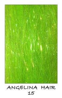 Angelina Hair Fluo Green