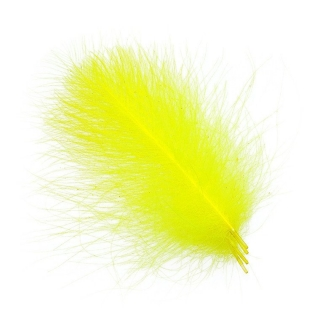 CDC peří Ultra Select XXL 4,5cm+ Fluo Yellow
