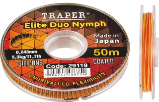 Traper Elite Duo Nymph Indicator Line 50m
