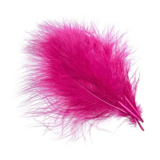 Hends Marabou peří Light Magenta