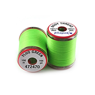 Body Thread 167 x 1 Fluo Green