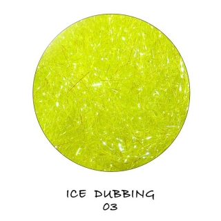 Ice Dubbing Fluo Green