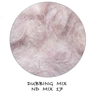 Natural Dubbing MIX Light Purple