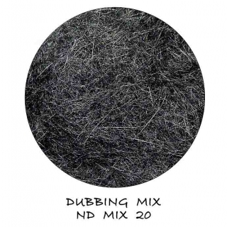 Natural Dubbing MIX Black