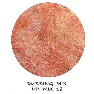 Natural Dubbing MIX Red