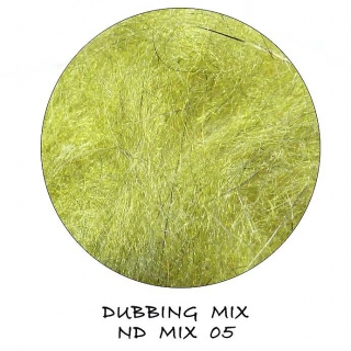 Natural Dubbing MIX Light Olive