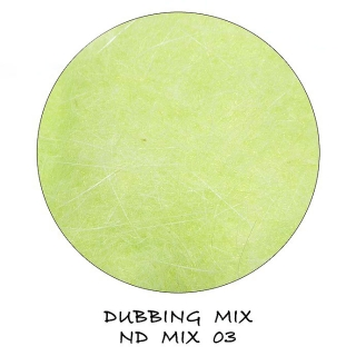 Natural Dubbing MIX Light Green
