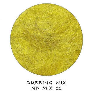 Natural Dubbing MIX Golden Olive