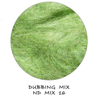Natural Dubbing MIX Green