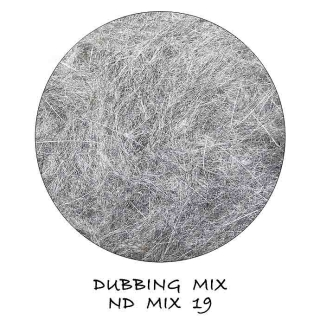 Natural Dubbing MIX Grey