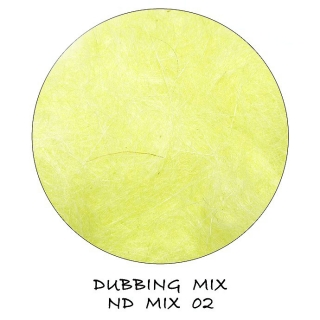 Natural Dubbing MIX Light Yellow