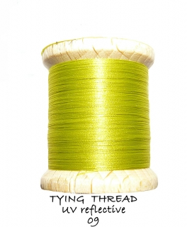 UV Reflective Thread Light Olive