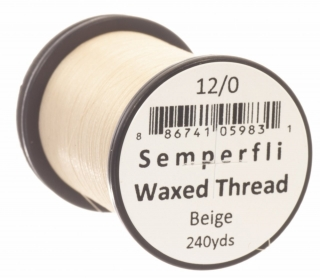 Semperfli Waxed Thread 12/0 Beige