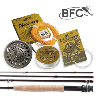 Muškařský set BFC Discovery HPS SMALL RIVER 8.6ft 4wt