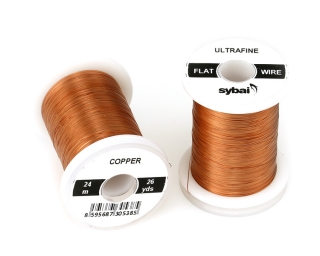 Barevný drátek FLAT Colour Wire Ultrafine Copper