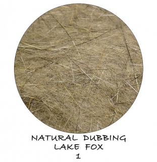 Natural dubbing Lake Fox