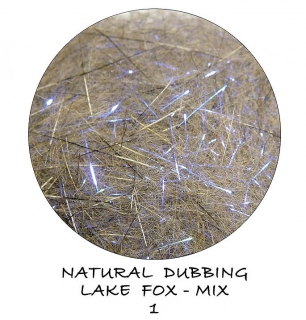 Natural dubbing Lake Fox Magic Blue