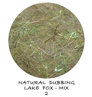 Natural dubbing Lake Fox Magic Green