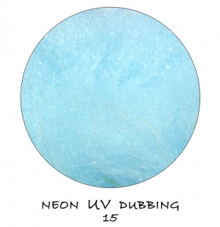 Neon UV Dubbing Light Blue