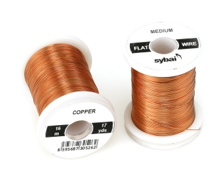 Barevný drátek FLAT Colour Wire Medium Copper