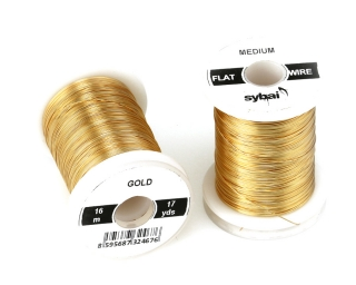 Barevný drátek FLAT Colour Wire Medium Gold