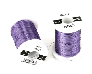 Barevný drátek FLAT Colour Wire Medium Light Violet