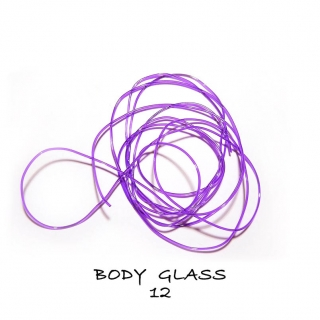 Tommi-fly Body Glass Dark Purple