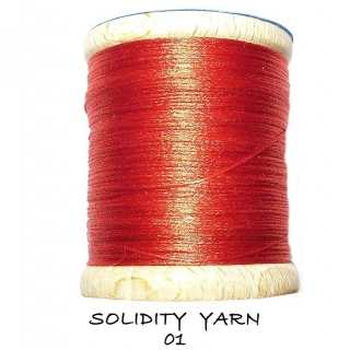 Solidity Yarn Red
