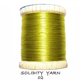 Solidity Yarn Yellow Olive