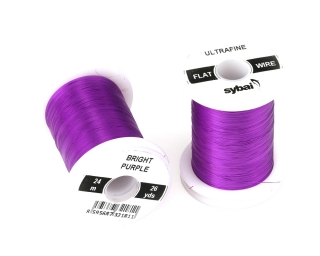 Barevný drátek FLAT Colour Wire Ultrafine Bright Purple