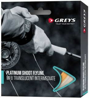 Muškařská šňůra Greys Platinum Shoot WF Translucent Intermediate