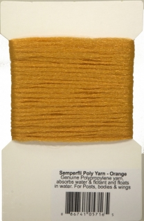 Semperfli Poly Yarn Orange