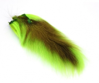 Jelení ocas Bucktail Whole Large Fluo Chartreuse