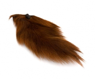 Jelení ocas Bucktail Whole Large Dark Brown