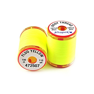 Body Thread 167 x 2 Fluo Yellow