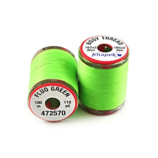 Body Thread 167 x 2 Fluo Green