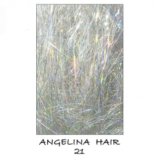 Angelina Hair Holographic Silver